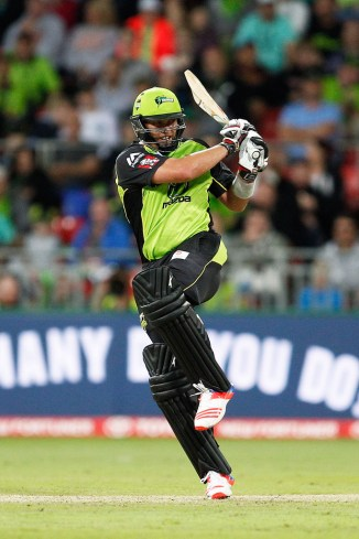 Kallis struck three boundaries and two sixes during his match-winning knock of 49 not out