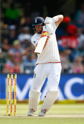 Root hit four boundaries and a six during his unbeaten knock of 60