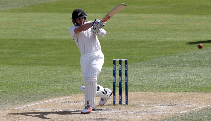 Williamson scored his 18th Test fifty