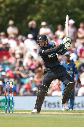 Guptill hit nine boundaries and four sixes during his innings of 79
