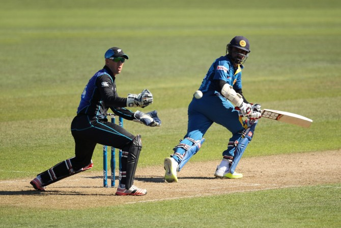 Thirimanne hit six boundaries and a six during his unbeaten knock of 87
