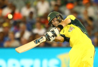 Maxwell hammered eight boundaries and three sixes during his knock of 96