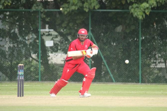 Khan fell six agonising runs short of his maiden ODI century