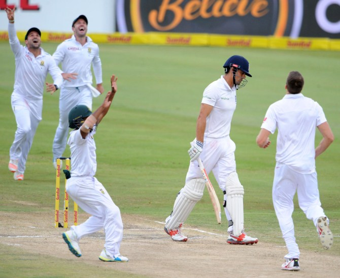 South Africa ripped through England's top order