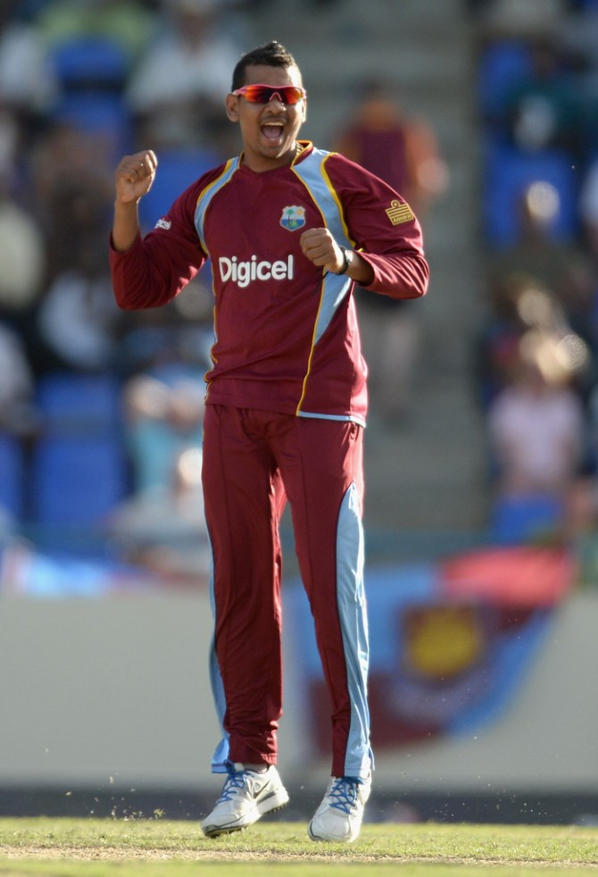 Narine is part of the West Indies' World Twenty20 squad