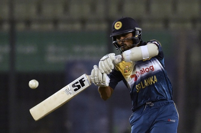 Chandimal struck seven boundaries and a six during his innings of 50