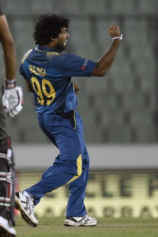 Malinga finished with figures of 4-26 off his four overs