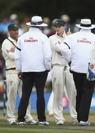Smith was docked 30 per cent of his match fee