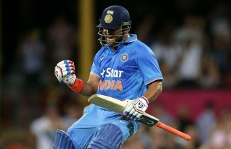 Raina exults after leading India to victory
