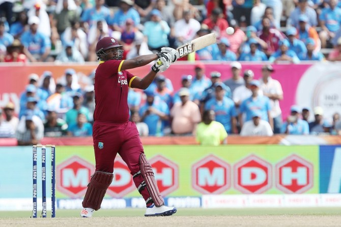 Charles was the only batsman to have an impact for the West Indies