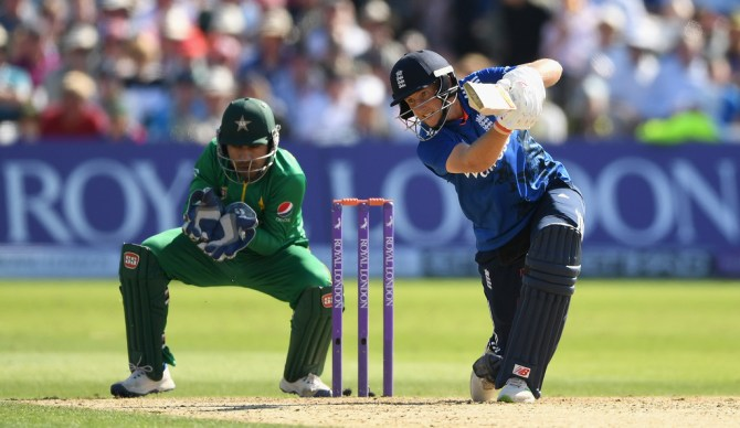 Root scored his 17th ODI fifty