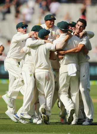 Australia are over the moon after pulling off an unbelievable win