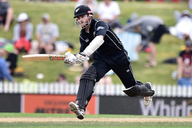 Williamson was named Man of the Match for his knock of 95 not out