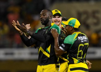 Kesrick Williams - Jamaica Tallawahs Caribbean Premier League CPL