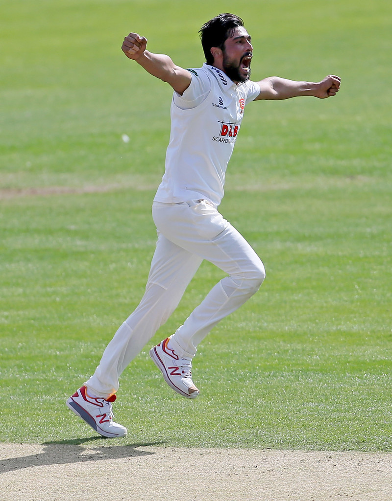 Amir's stint with Essex has been cut short