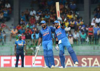 Virat Kohli hundred India Sri Lanka cricket