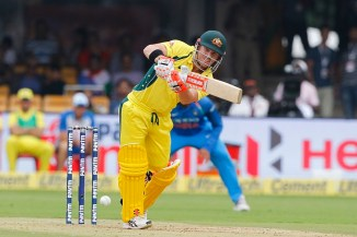 David Warner century Australia India cricket