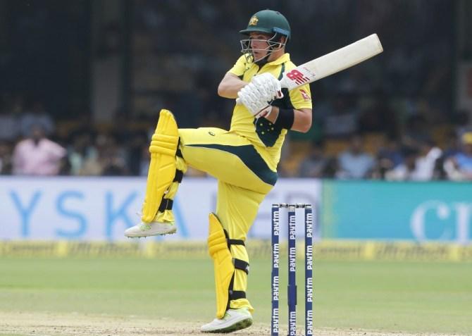 Aaron Finch Australia India cricket