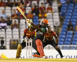 Chris Gayle St Kitts and Nevis Patriots Trinbago Knight Riders CPL cricket