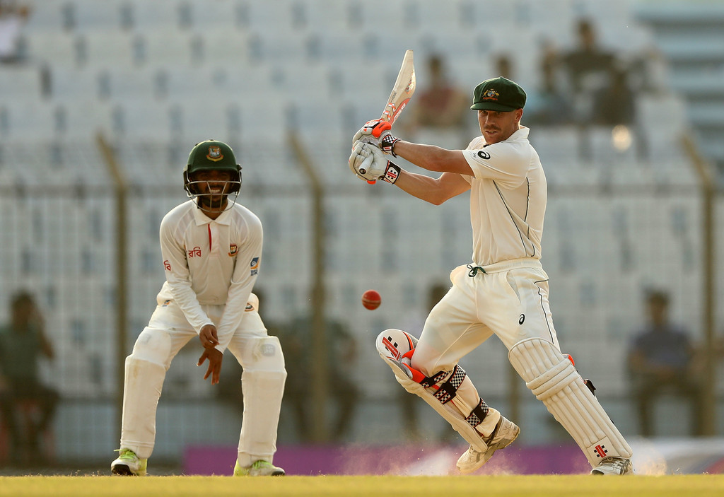 Australia 111-2 at tea in 2nd Bangladesh Test