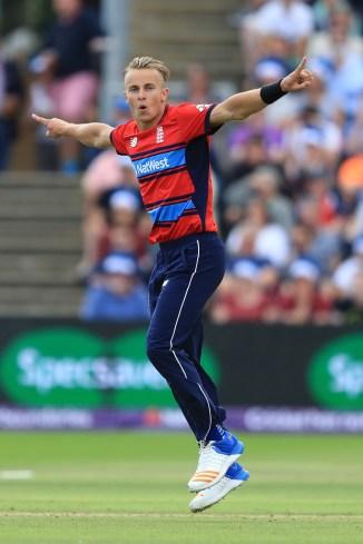 Tom Curran England West Indies cricket