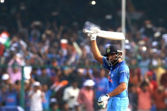 Rohit Sharma century India New Zealand cricket