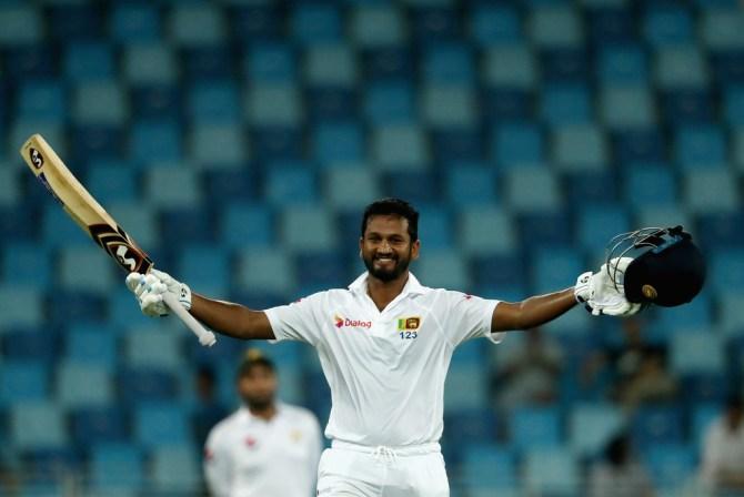 Dimuth Karunaratne century Sri Lanka Pakistan cricket