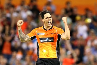 Mitchell Johnson Perth Scorchers BBL cricket
