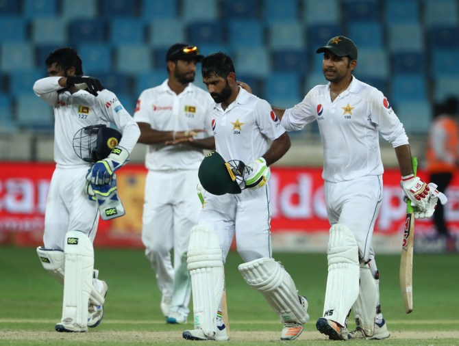 Asad Shafiq Sarfraz Ahmed Pakistan Sri Lanka cricket