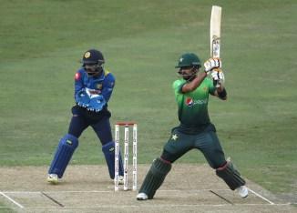 Babar Azam century Pakistan Sri Lanka cricket