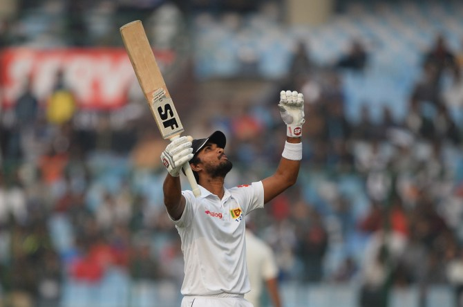Dinesh Chandimal hundred Sri Lanka India cricket