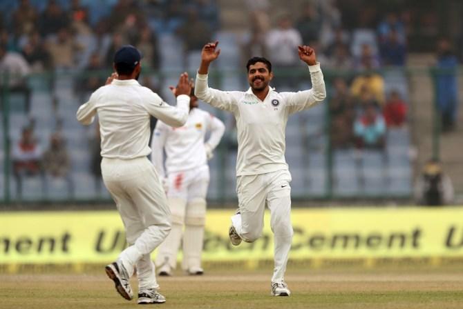 Ravindra Jadeja India Sri Lanka cricket