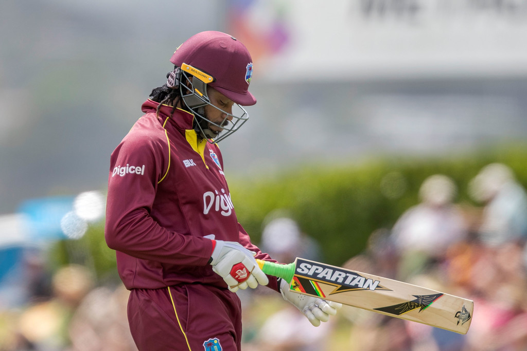 Gayle out as West Indies opt to bowl in second ODI