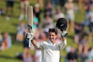 Colin de Grandhomme century New Zealand West Indies cricket