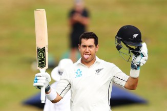 Ross Taylor century New Zealand West Indies cricket