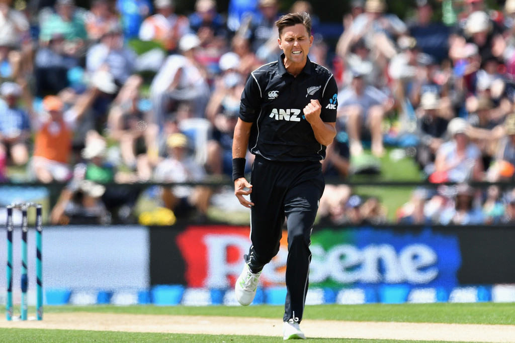 Boult powers Black Caps to ODI win
