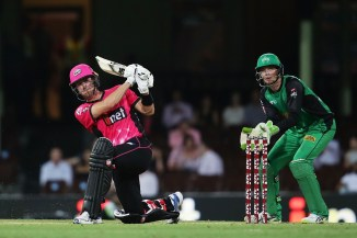 Joe Denly 72 Sydney Sixers Melbourne Stars BBL cricket