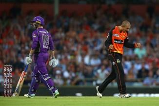Ashton Agar two wickets Perth Scorchers Hobart Hurricanes BBL cricket