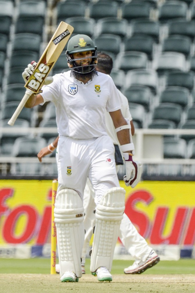Hashim Amla 61 South Africa India 3rd Test 2nd Day cricket