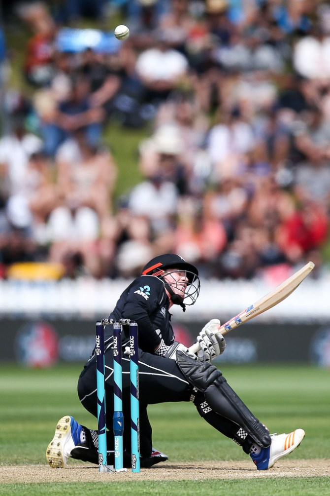 Henry Nicholls half-century New Zealand Pakistan 1st ODI cricket