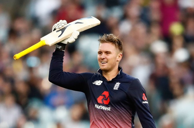 Jason Roy hundred Australia England 1st ODI cricket