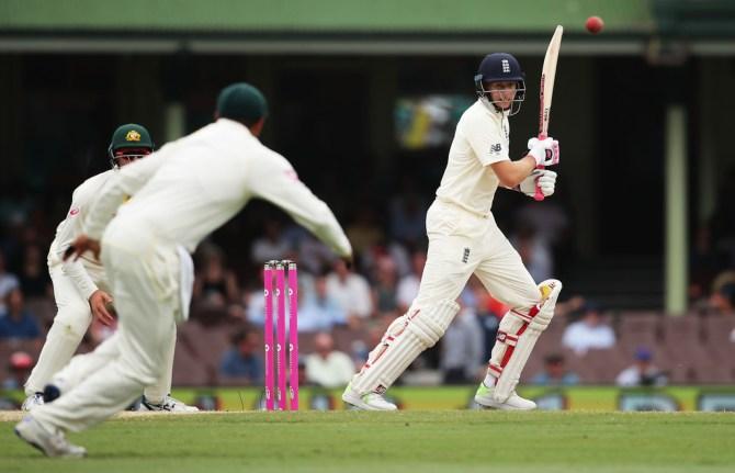 Joe Root illness fifty Australia England Ashes cricket