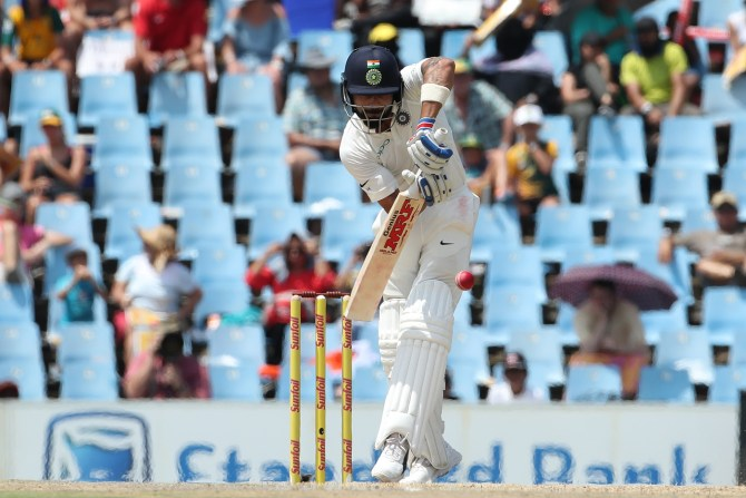 Virat Kohli South Africa India Test series cricket