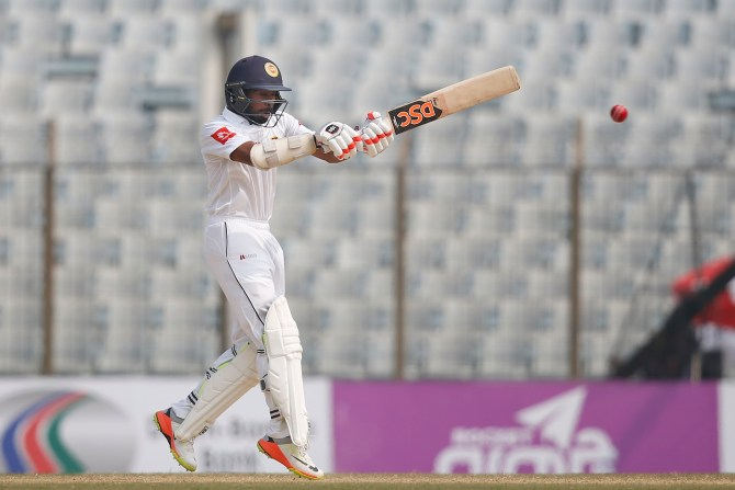 Niroshan Dickwella 62 Bangladesh Sri Lanka 1st Test Day 4 Chittagong cricket