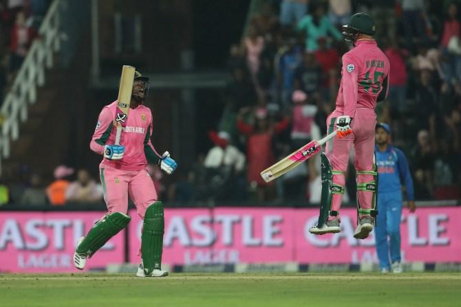 Heinrich Klaasen 43 South Africa India 4th ODI Johannesburg cricket
