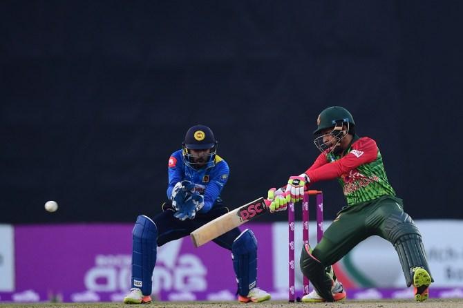 Mushfiqur Rahim 66 Bangladesh Sri Lanka 1st T20 Dhaka cricket