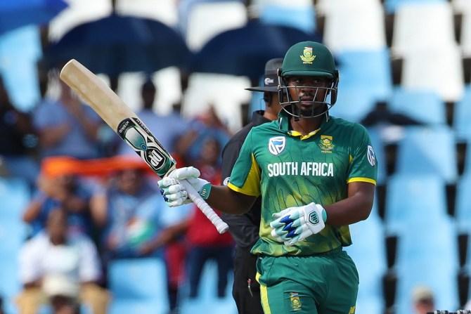 Khaya Zondo 54 South Africa India 6th ODI Centurion cricket