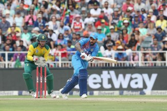 Shikhar Dhawan 72 South Africa India 1st T20 Johannesburg cricket