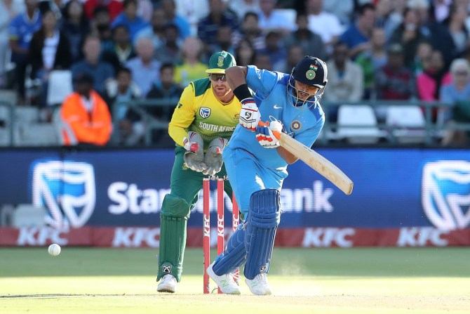 Suresh Raina 43 South Africa India 3rd T20 Cape Town cricket