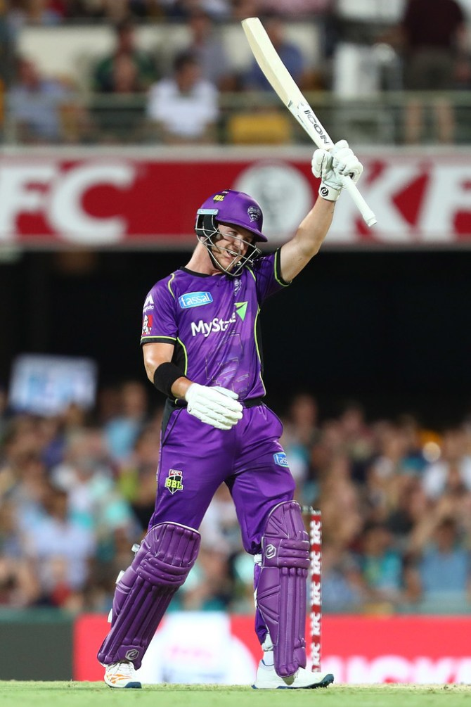 D'Arcy Short signs two-year extension Hobart Hurricanes Big Bash League BBL cricket